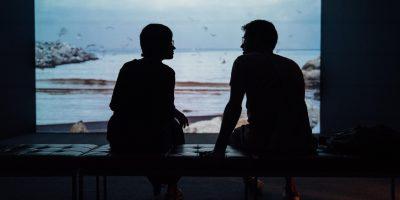 Couple discussing stashing